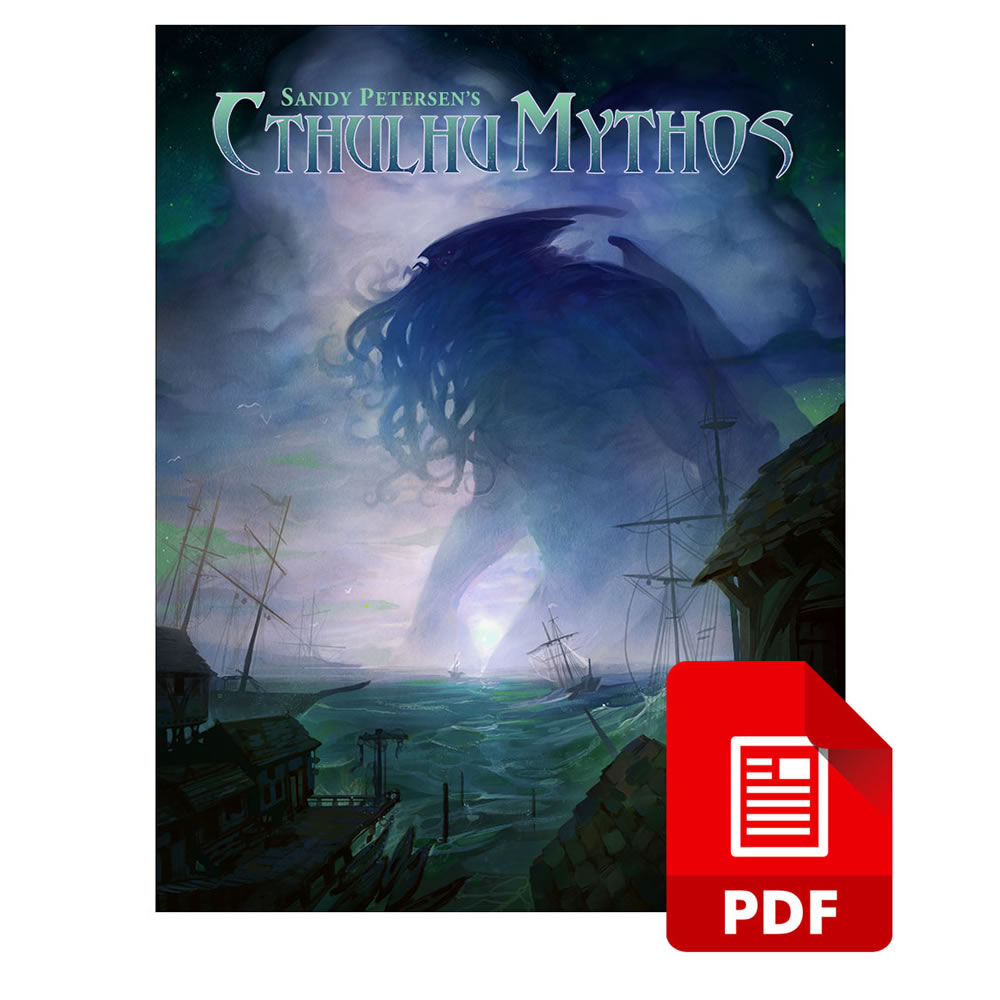 Sandy Petersen's Cthulhu Mythos for 5E PDF Download (SPCM-5e-PDF)