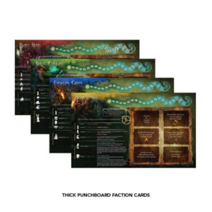 Thick Punchboard Faction Cards (CW-E10)