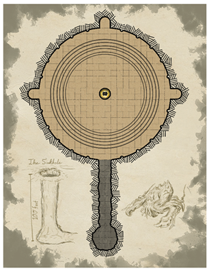 Ghoul Island Act 4 Keyless Map
